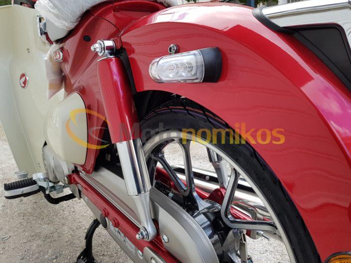 Αναρτήσεις πίσω ρόδα ζάντα τροχός Honda Super Cub 125