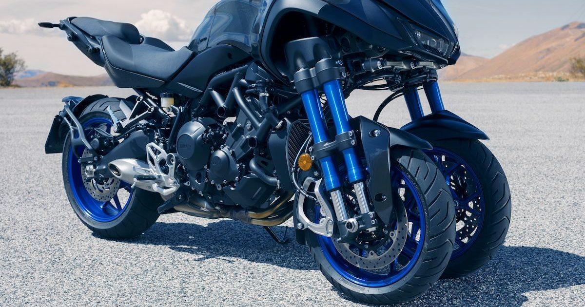 Διπλά μπροστινά δισκόφρενα 298mm Yamaha NIKEN 850