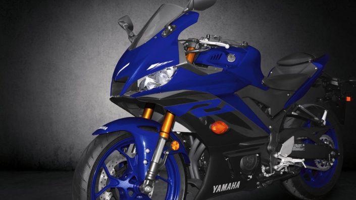 Ισοσσοπημένη κατανομή βάρων 50 50 Yamaha YZF R3