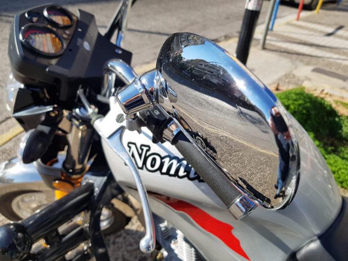 Καθρέπτες τρικύκλου Nomik με καρότσα για αγρότες, μαναβική, μεταφορές moto nomikos nomik www.motonomikos.gr