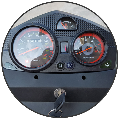 Κοντέρ - όργανα τρίκυκλου με καρότσα Nomik 200cc injection euro 4