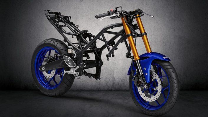 Λεπτό και ελαφρύ σπορ πλαίσιο Yamaha YZF R3