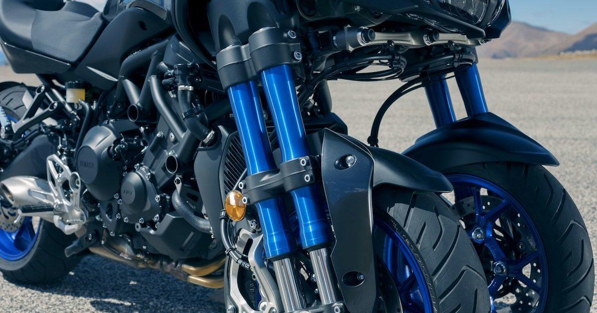 Μεγάλη εγκάρσια γωνία κλίσης 45 μοιρών Yamaha NIKEN 850