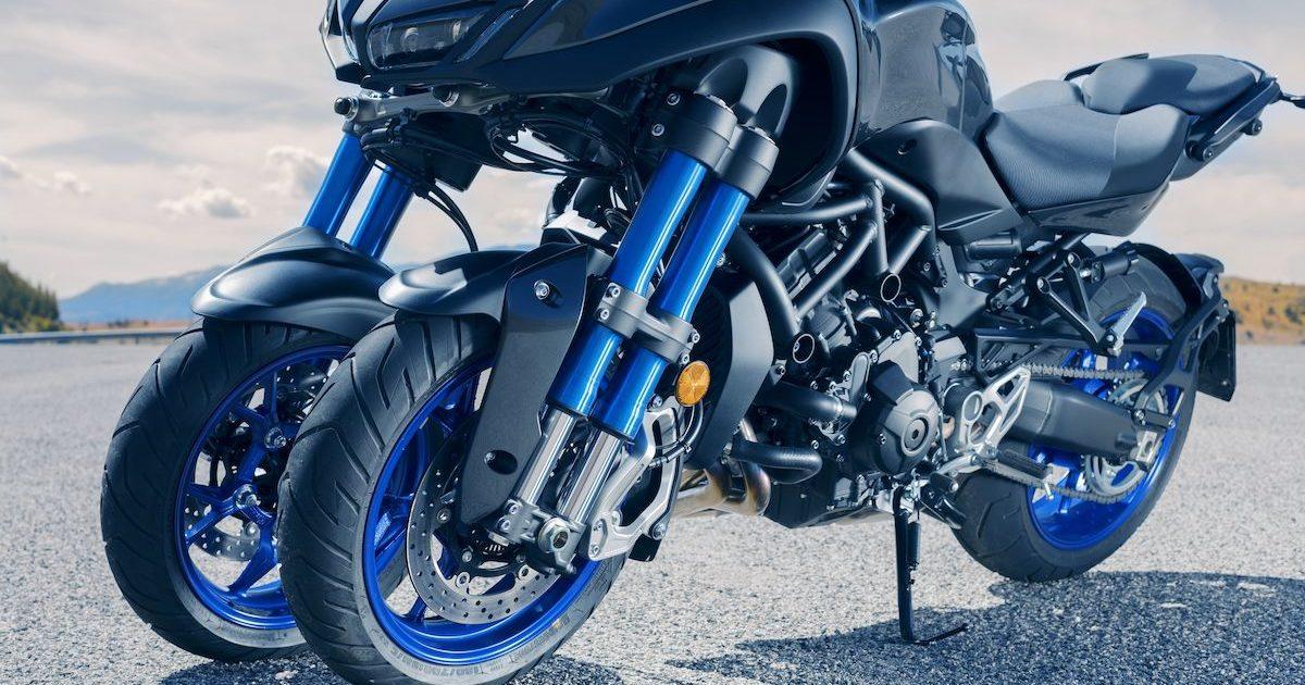 Νέα τεχνολογία πολλαπλών τροχών με κλίση LMW Yamaha NIKEN 850