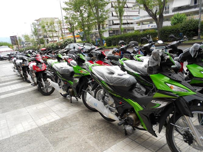 Νέες παραλαβές μοτοσυκλετών - moto στην εταιρεία MOTONOMIKOS