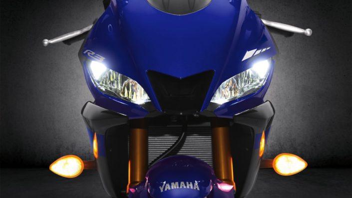 Νέοι διπλοί προβολείς LED εμπνευσμένοι απο τη YZF-R1 Yamaha YZF R3