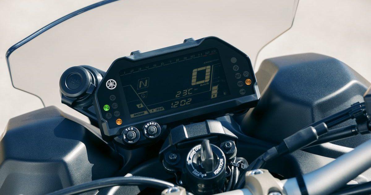 Πίνακας οργάνων μικρών διαστάσεων με οθόνη LCD Yamaha NIKEN 850
