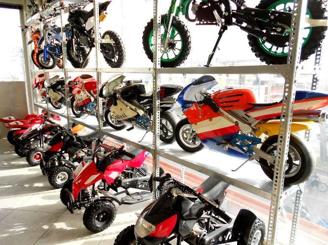 Παιδικά βενζινοκίνητα mini moto στο κατάστημα MOTONOMIKOS
