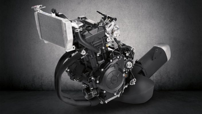 Πολύστροφος κινητήρας 321cc Yamaha YZF R3