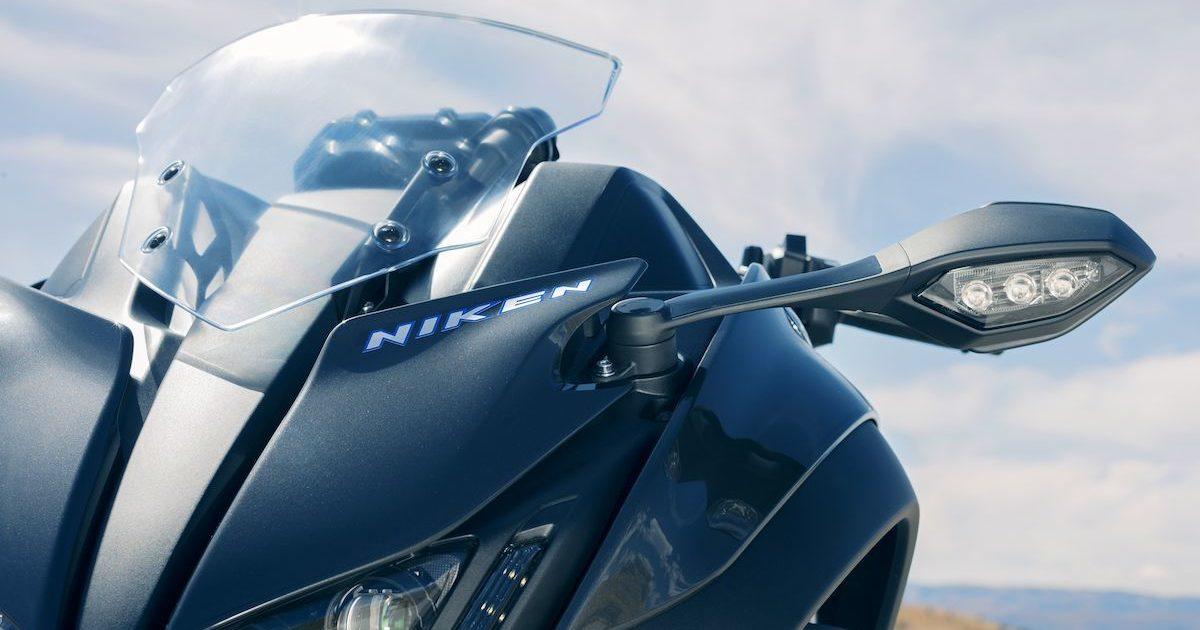 Πλήρως ρυθμιζόμενη πίσω ανάρτηση Yamaha NIKEN 850