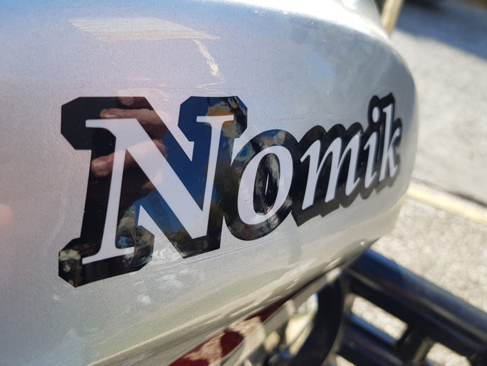Τεπόζιτο Nomik τρίκυκλο με καρότσα www.motonomikos.gr moto nomikos ΝΟΜΙΚΟΣ Αθήνα