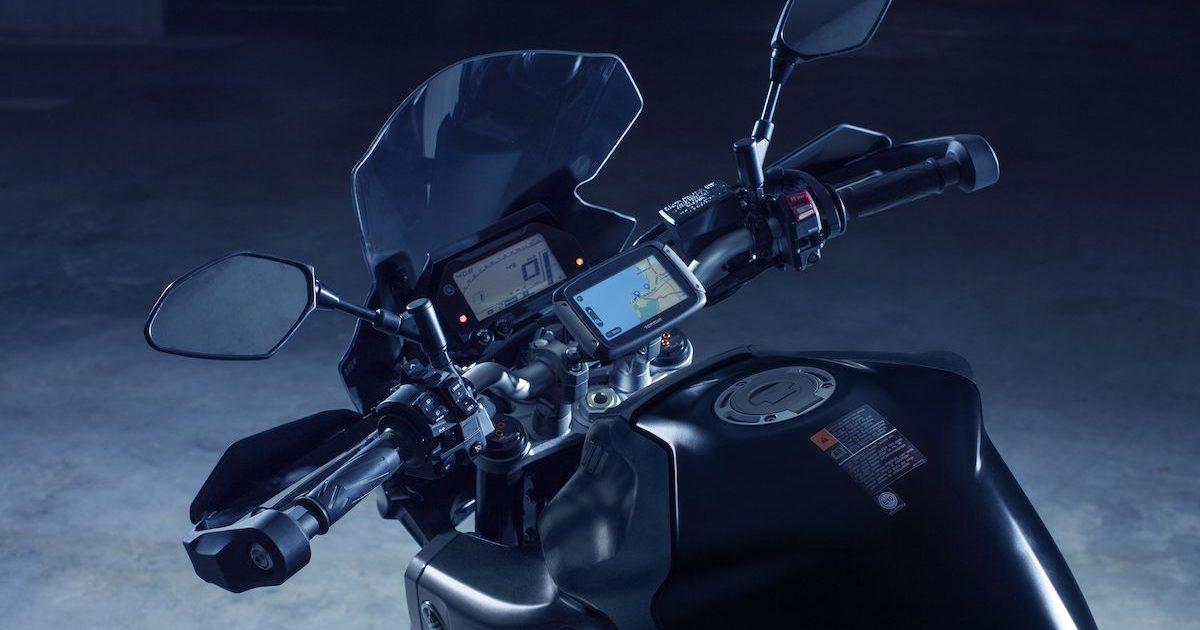 Τιμόνι και κοντέρ Yamaha MT-10 tourer