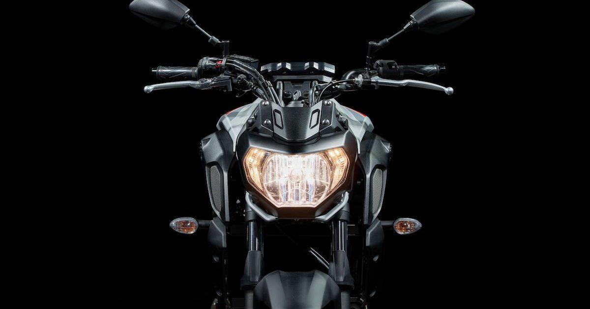 Μπροστινή όψη - φανάρι Yamaha MT-07