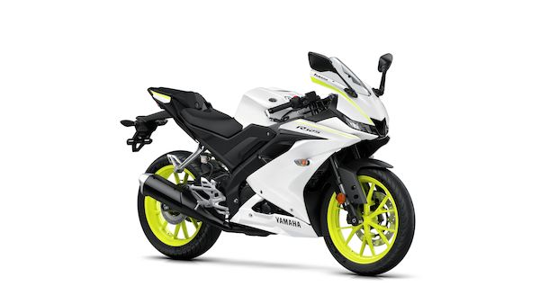 2019-Yamaha-YZF-R125 Competition White