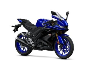 2019-Yamaha-YZF-R125 Yamaha blue