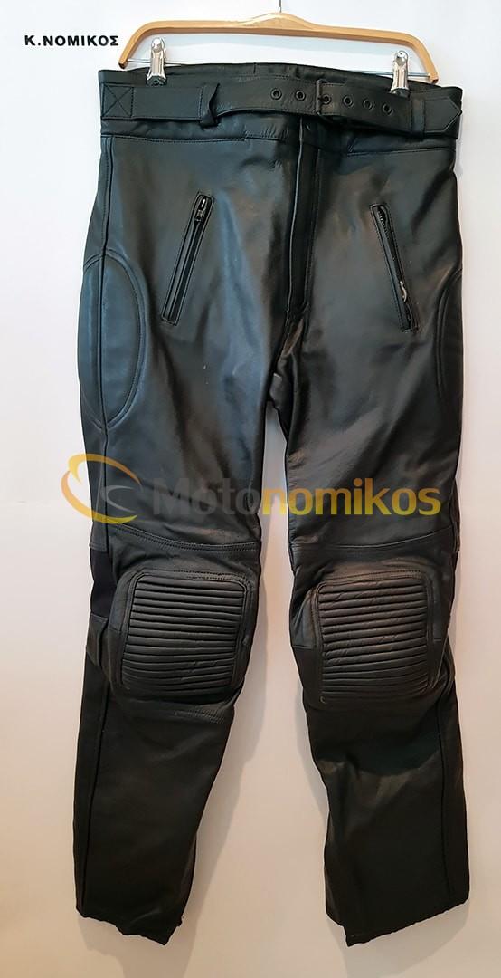 Δερμάτινη φόρμα μηχανής UTIKA μαύρη