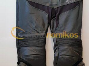 Δερμάτινο ελαστικό παντελόνι μηχανής UTIKA