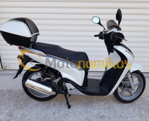 Μεταχειρισμένα Honda SH150 SH 150 μοντέλο 2010 με μπαγκαζιέρα άσπρο-min