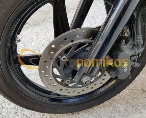 Μεταχειρισμένο HONDA SH150 SH 150 SPORTY μαύρο μοντέλο 2011 ζάντα-min
