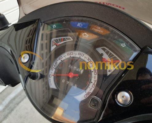 Μεταχειρισμένο HONDA SH150 SH 150 SPORTY μαύρο μοντέλο 2011 κοντέρ-min