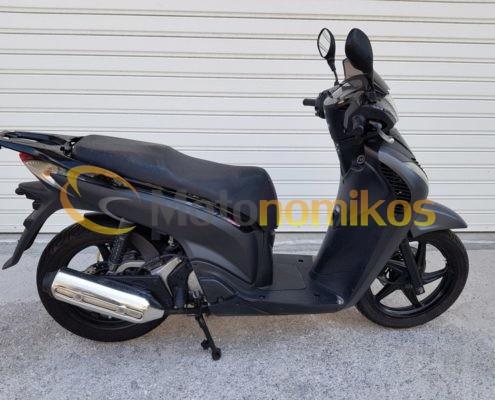 Μεταχειρισμένο HONDA SH150 SH 150 SPORTY μαύρο μοντέλο 2011-min