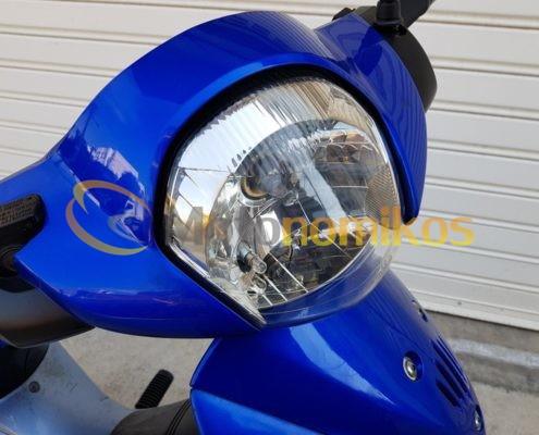 Μεταχειρισμένο Honda INNOVA καρμπυρατέρ 125cc μοντέλο 2006 μπλε φανάρι-min