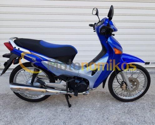 Μεταχειρισμένο Honda INNOVA καρμπυρατέρ 125cc μοντέλο 2006 μπλε-min