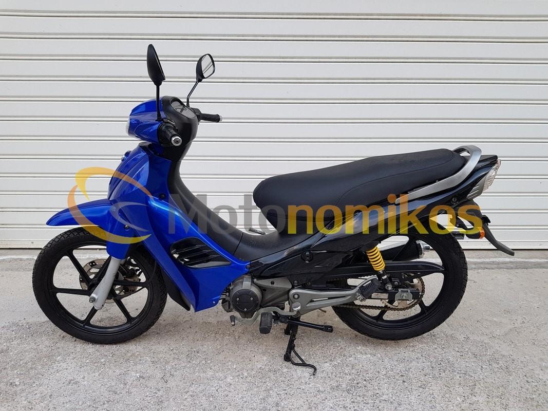 Μεταχειρισμένο Modenas Criss 125 μπλε 2011 αριστερά-min