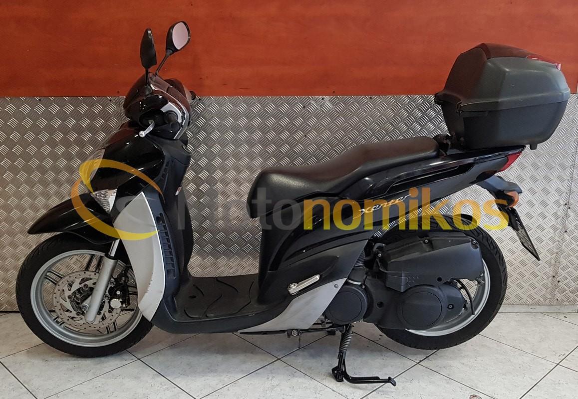 Μεταχειρισμένο Yamaha Xenter 150 μοντέλο 2014 αριστερά