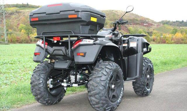 ATV SMC JUMBO 700 ΓΟΥΡΟΥΝΑ μπαγκαζιέρα
