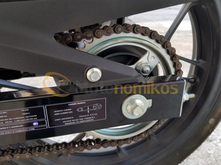 Honda GTR 150 Supra γρανάζι αλυσίδα αντιπροσωπεία ΝΟΜΙΚΟΣ moto nomikos www.motonomikos.gr