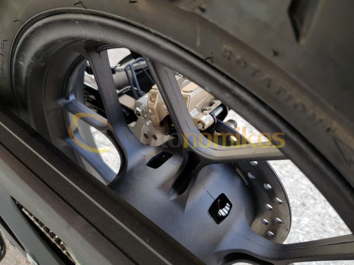 Honda GTR 150 Supra πίσω τροχός ζάντα λάστιχο αντιπροσωπεία ΝΟΜΙΚΟΣ moto nomikos www.motonomikos.gr
