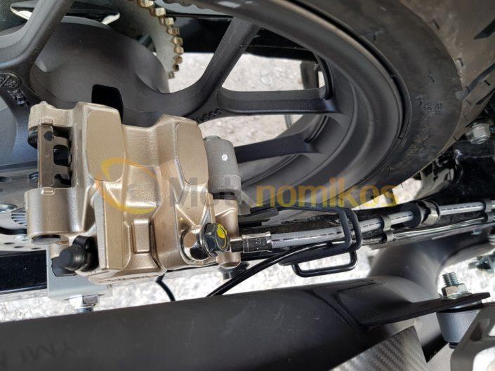 Honda GTR 150 Supra πίσω φρένα αντιπροσωπεία ΝΟΜΙΚΟΣ moto nomikos www.motonomikos.gr