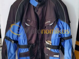 Jacket μοτοσυκλέτας μπλε Utika απο υλικό cortura 987443