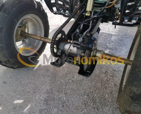 Μεταχειρισμένη γουρούνα - atv GXJAO 250cc κινέζικη σε προσφορά αλυσίδα φρένα-min