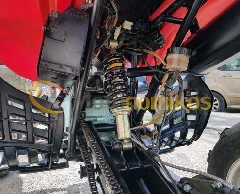 Μεταχειρισμένη γουρούνα - atv GXJAO 250cc κινέζικη σε προσφορά αναρτήσεις φρένα-min