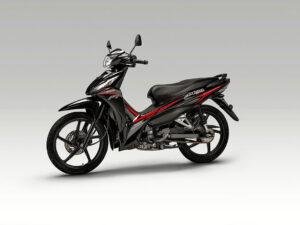 Honda Astrea Grand 110 2018 2019 χαμηλή τιμή ετοιμοπαράδοτο αριστερή μεριά μαύρο
