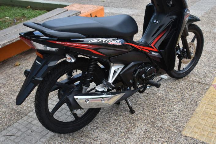 Honda Astrea Grand 110 2018 2019 χαμηλή τιμή ετοιμοπαράδοτο μαύρο εξάτμιση