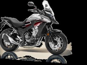 Honda CB500X ABS 2018 2019 ασημί