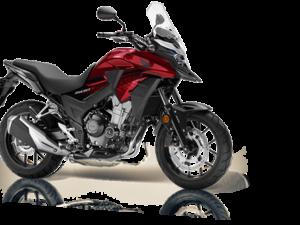 Honda CB500X ABS 2018 2019 κόκκινο