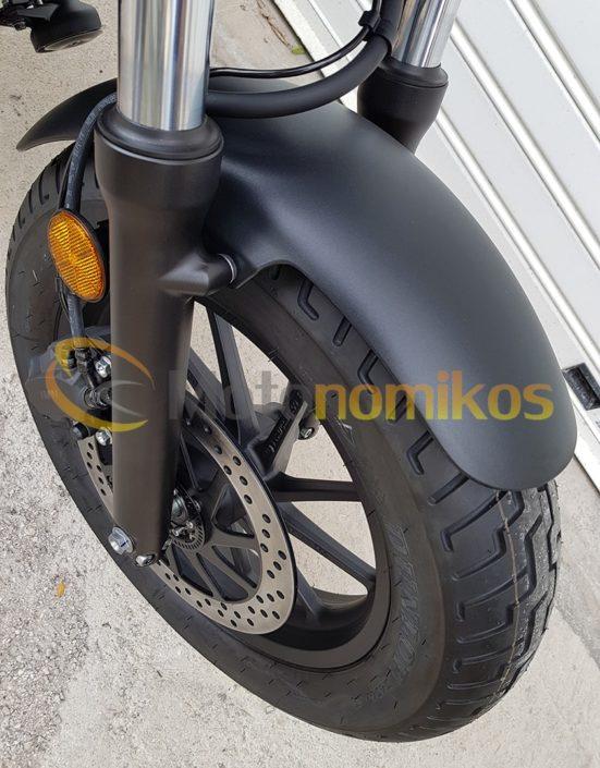 Honda CMX500 Rebel μπροστινός τροχός ρόδα δισκόφρενο δισκόπλακα ζάντα λάστιχο