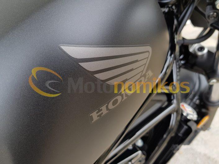 Honda CMX500 Rebel νέο μοντέλο 2019