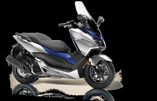 Honda Forza 125 2018 2019 ασημι