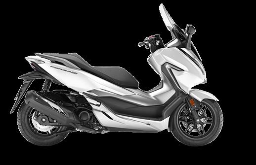 Honda Forza 300 2018 2019 άσπρο λευκό