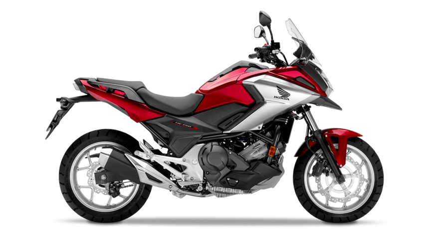 Honda NC750X 2018 2019 κόκκινο δεξιά