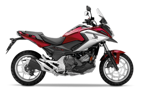 Honda NC750X 2018 2019 κόκκινο