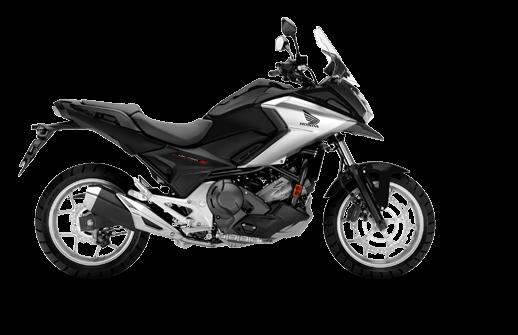 Honda NC750X 2018 2019 μαύρο