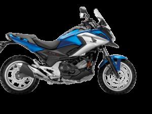 Honda NC750X 2018 2019 μπλε