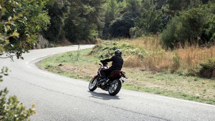 Honda NC750X 2018 2019 πίσω αριστερή μεριά