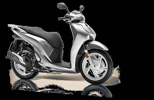 Honda SH 125 Mode 2018 2019 euro 4 ασημί
